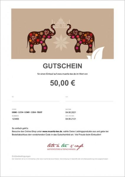 Geschenkgutschein (Onlineshop)