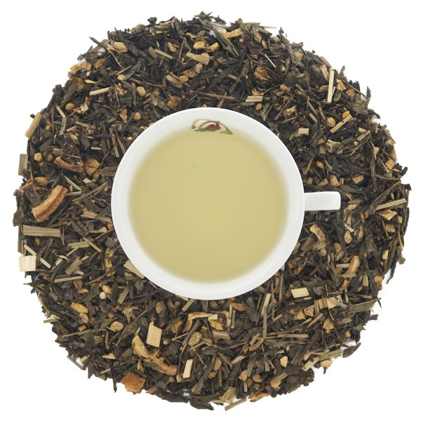 Gelber Tee Ingwer-Zitrone