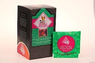 Kräutertee Terra® Tea Tulsi Orange-Ingwer natürlich