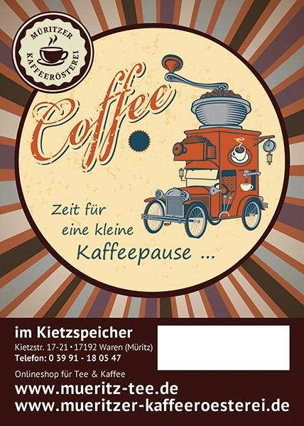 Kaffeegeschenk: Zeit für eine kleine Kaffeepause