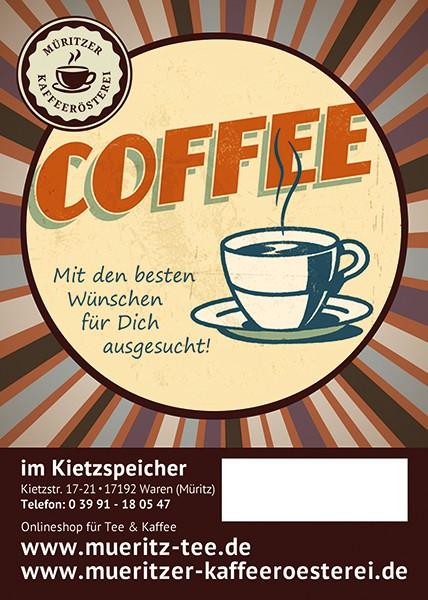 Kaffeegeschenk: Mit den besten Wünschen für Dich ausgesucht!
