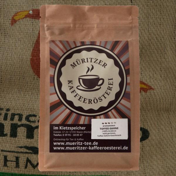 Arabica aromatisiert Toffee Sahne